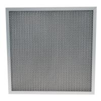 Buy cheap Metal mesh air filters and washable furnace air filters corrugated aluminum mesh filter from wholesalers