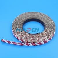 Buy cheap soft type permanent magnetic strips with 3m adhesive from wholesalers
