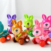 Buy cheap Cute Sika Deer Plastic Wind Up Toys / 8cm Long Kids Wind Up Toys Color Customized product