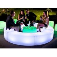 Events bench Chairs with led and  Wireless Remote Control 120 X 40X H40 cm Manufactures