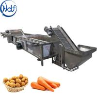 Buy cheap Multifunction Vegetable Cleaning Machine , Fruit And Vegetable Processing Machine from wholesalers