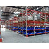 Buy cheap 2400 KGS UDL Heavy Duty Pallet Rack Shelving Material SS400 / 235B RAL Color System from wholesalers