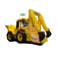 Buy cheap Construction Digger Truck Bouncer Inflatable Bounce House Customized Size from wholesalers