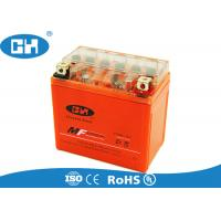 Buy cheap Maintenance Free 12v Motorbike Battery , Small Gel Cell Motorcycle Battery from wholesalers