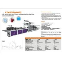 Fully Automatic Non Woven Box Bag Making Machine Manufactures
