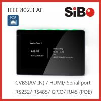 Buy cheap Smart Home Automation Wall Mounted 7 Inch Android POE Touch Panel Customized LED Light from wholesalers