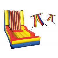 Wholesale Lead Free Inflatable Sports Toys Sticky Velcro Wall Quadruple Needle Safe Stitching from china suppliers