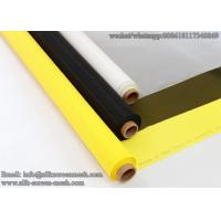 Buy cheap Mesh Banner Material/Screen Printing Fabric 64T 64W polyester screen printing mesh for textile from wholesalers
