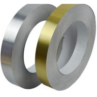 Cold Rolling Polished Aluminum Strips Mill Finish Surface Treated ISO Certificat