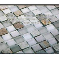 Wholesale Marble Mix Glass  Mosaic,Garden Material, 20*20*8MM from china suppliers