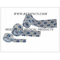 Paw Prints Vet Wrap Printed Cohesive Elastic Bandage Fix Dressing Cold Hot Packs Manufactures