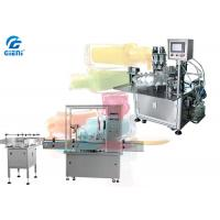 Buy cheap Automatic / Semi Automatic Nail Polish Filling Machine , Nail Gel Polish Filler from wholesalers