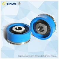 Wholesale Triplex Mud Pump Piston Bonded Urethane Piston With PU Rubber Conveying Mud Flushing Fluids from china suppliers