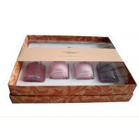 Wholesale Cosmetic Box Packaging With Plastic Inlay , Skin Care Paper Box Packaging from china suppliers