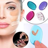 Buy cheap Clear Silicone Makeup Pad Applicator Sponge , Soft Silicone Beauty Applicator from wholesalers