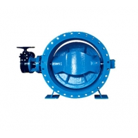 Buy cheap DN700 Double Eccentric Double Flange Butterfly Valve from wholesalers