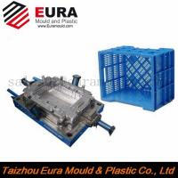 Buy cheap Custom design plastic injection crate mold, storage turnover box mold, crate mould maker from wholesalers