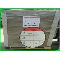 Buy cheap Folder Cover Grey Cardboard Sheets 1mm 2mm 2.5mm Thick With High Smoothness from wholesalers