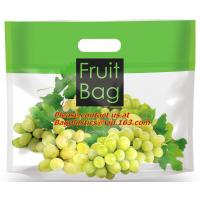 Buy cheap high transparent plastic bag for grape, plastic material and zipper to sealing transparent from wholesalers
