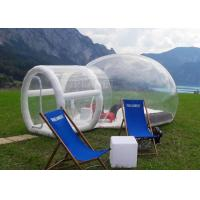 Wholesale Outdoor Single Tunnel Inflatable Bubble Tent Camping Family Stargazing For Rent from china suppliers