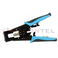 Buy cheap F / BNC / RCA Telecom Hand Tools Wire Connector Crimping Tool For Coaxial Cable Connector from wholesalers