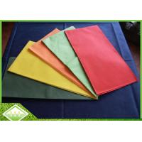 Buy cheap Polypropylene TNT Non Woven Tablecloth 1m*1m Customized Printing Breathable from wholesalers