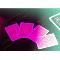 Buy cheap 100% Plastic Fournier Marked Decks Marked Playing Cards For European Casinos product