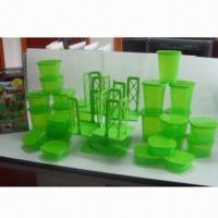 Buy cheap Stack-and-store Storage Containers with 54-piece Storage Sets, Dishwasher and Microwave Safe from wholesalers
