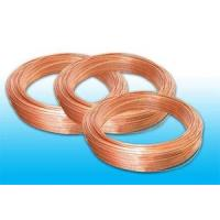 Buy cheap Plated Low Carbon Refrigeration Copper Tube , Bundy Tube 8 * 0.6 mm from wholesalers