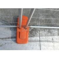 Buy cheap HDG Treated Temp Fence Panels Removable Safety Fence For Construction Sites from wholesalers