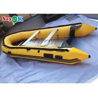 Buy cheap Fire Resistant 4 Man PVC Inflatable Boats Outdoor Fishing Paddle Boats from wholesalers