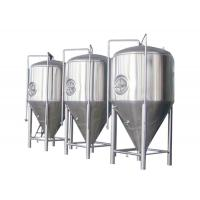 Buy cheap SUS 304 / 316 Conical Beer Fermenter Drinks Beverage Beer Brewing Parts from wholesalers