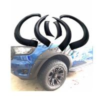 China Injection Molding 4x4 Wheel Arch Flares For Ford Ranger T7 Wildtrak 2015 2018 on sale
