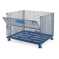 Buy cheap Collapsible Steel Wire Storage Bins For Food Industry 3 Years Warranty from wholesalers