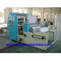 Buy cheap Vacuum Absorbing M Fold Paper Towel Printing Machine , PLC Computer Controller from wholesalers