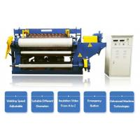 Buy cheap Full Automatic Galvanized Wire Welded Roll Mesh Welding Machine1.2m,2m or 2.5m from wholesalers