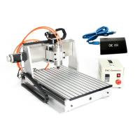 Buy cheap USB CNC3040 3 Axis CNC Router 800w spindle 1.5kw VFD Drilling Milling Cutting Machine from wholesalers