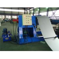 Wholesale Hydraulic Decoiler Coil Slitting Machine For Color Steel 2 Rubber Stations from china suppliers