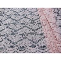 Buy cheap Cotton Nylon Wedding Dress Lace Fabric With Floral Decoration AZO Free SYD-0009 from wholesalers