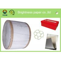 Buy cheap Recycled One Side Coated Grey Back Duplex Board Paper Sheet 787 * 1092mm from wholesalers