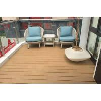 Buy cheap Polishing Treatment WPC Deck Flooring For Walk Road / Garden Non Slip product