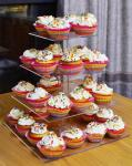 Buy cheap Lightweight Acrylic Dessert Stands 3 Tier Acrylic Cake Stand from wholesalers