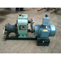 Buy cheap Power Construction 3 Ton Electric Cable Pulling Winch With Electric Engine from wholesalers