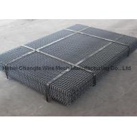 China Mining / Coal Steel Vibration Crimped Woven Wire Mesh For Vibrating Screen on sale