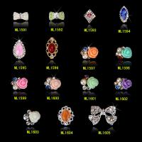 Buy cheap 3D Rose Flower Fashion Jewelry 3D Nail Art Decorations Nail Beauty Decor ML1591-1605 from wholesalers