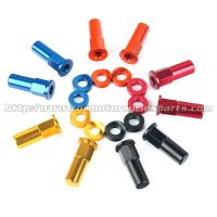 Buy cheap CNC Billet MX Bling Kit Wheel Lock Nuts And Wheel Spacers For MX Dirt Bike from wholesalers