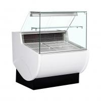 Buy cheap Slim Design Deli Display Fridge Refrigerated Meat Showcase Counter With Back Storage Cabinets from wholesalers