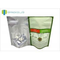 Food grade Moisture Barrier Plain Stand Up Pouches Back Foil Spices Packing Manufactures