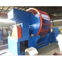 Wholesale Scrap Rubber Shredding Machine Tire Crusher Shaft Speed 19Rpm from china suppliers
