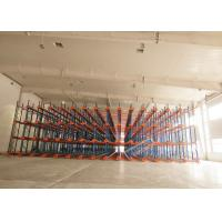 Buy cheap 1000 Depth Shuttle Metal Pallet Racks Remote Controlled For Frozen Meat / Beverage Storage product